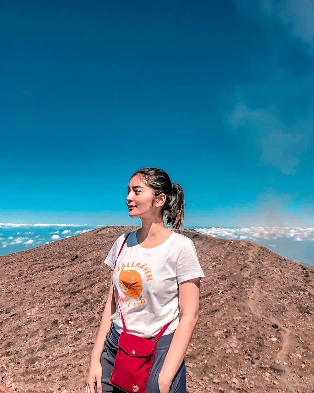 Gunung Slamet Pendaki Cantik