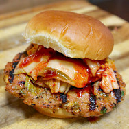 Korean Pork Burger