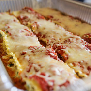 Rolled Lasagna with Smoked Pork Sausage
