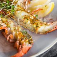 Blue Crab Stuffed Lobster