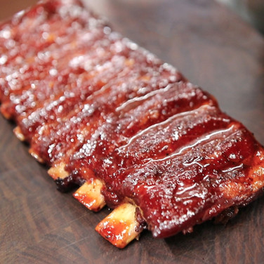 New Mexico Red Chili and Honey Ribs