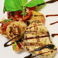 Sword Fish with Panzanella Salad