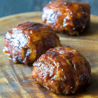 Bacon Wrapped Sausage Balls