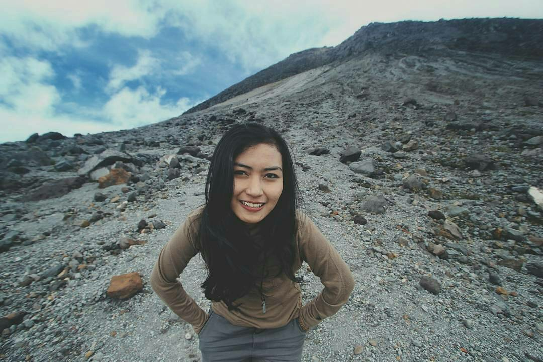 Pendaki Cantik Gunung Merapi