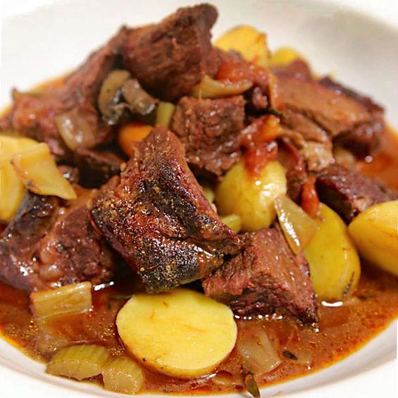 Shiner Bock Braised Beef