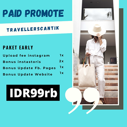 Paket Early Paid Promote