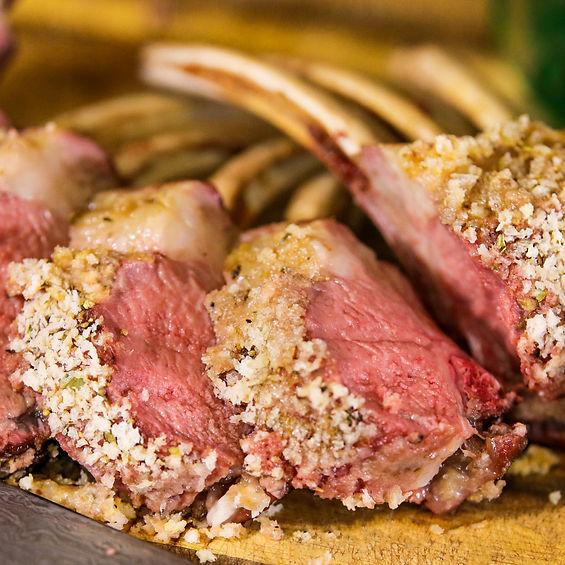 Panko Crusted Lamb