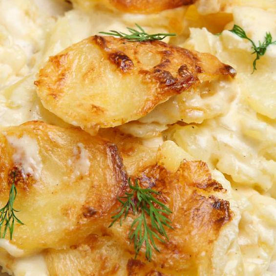 Smoked Scalloped Potatoes