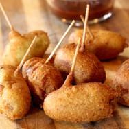 Spicy Mini Fried Corndogs
