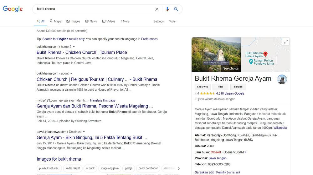 Menggunakan google my business untuk meningkatkan bisnis saat pandemi covid19
