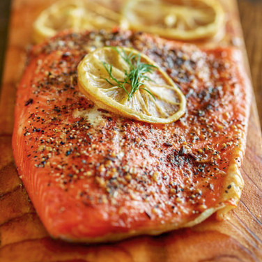Roasted Irish Salmon