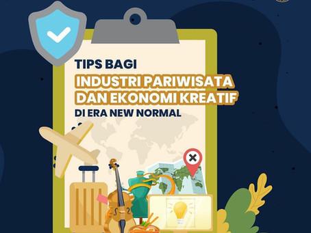 Tips KEMENPAREKRAF Untuk Industri Pariwisata dan Kreatif  Yang Ingin Beroperasi
