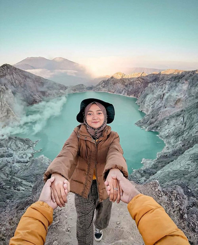Pendaki Cantik Gunung Ijen