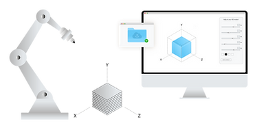 slicerXL - Robot + configurator + positi