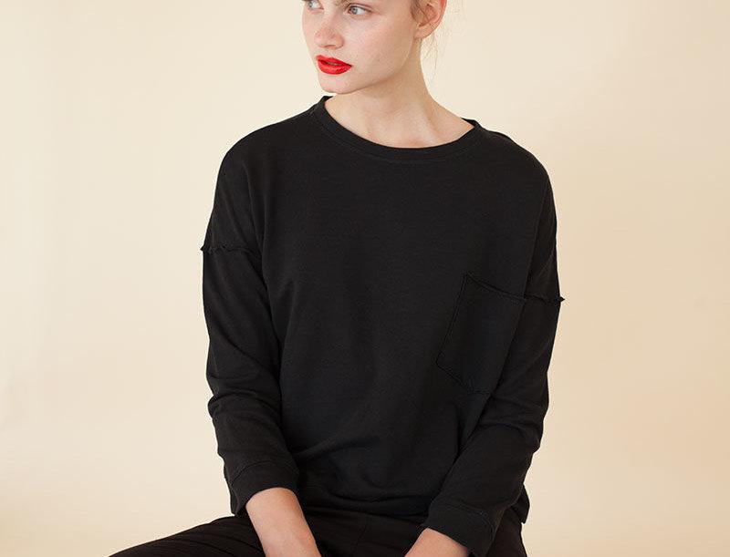 Frazzled Pocket Sweatshirt