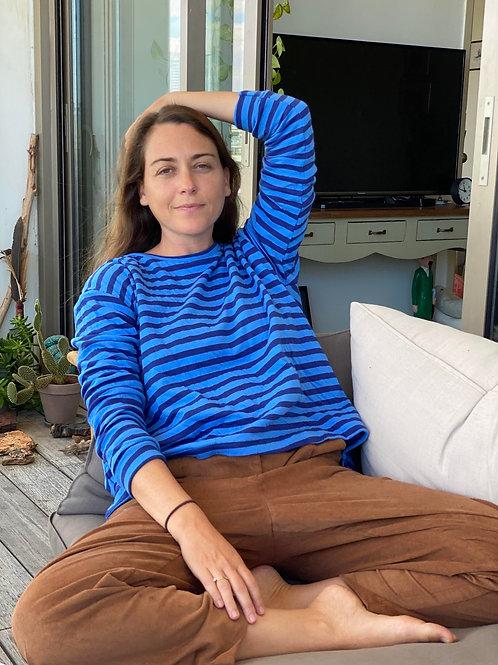 Stripes French Terry Sweatshirt