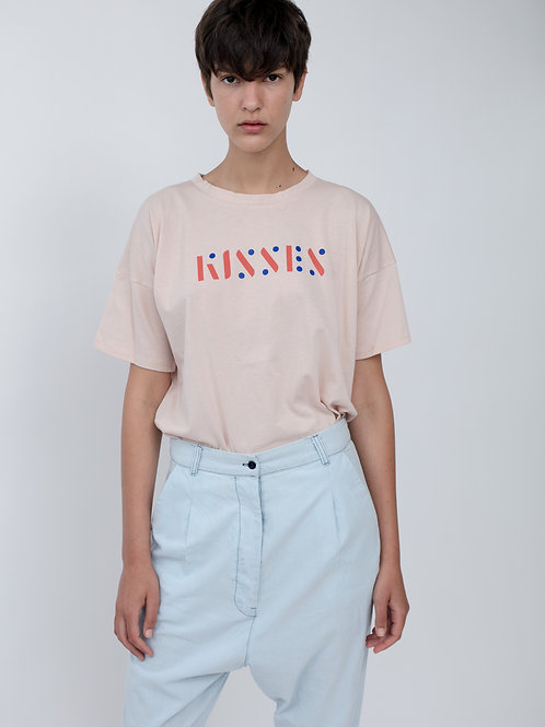 Kisses Printed T-shirt