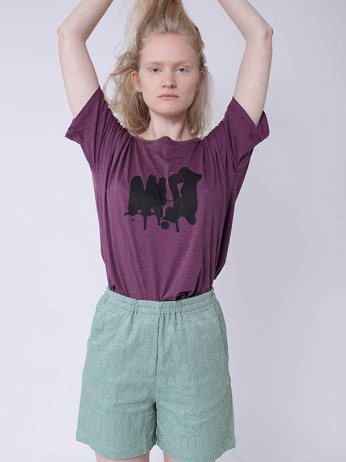 Purple MIST Printed T-shirt