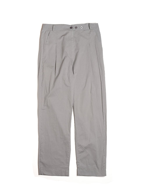Pleated Three Buttons Pants