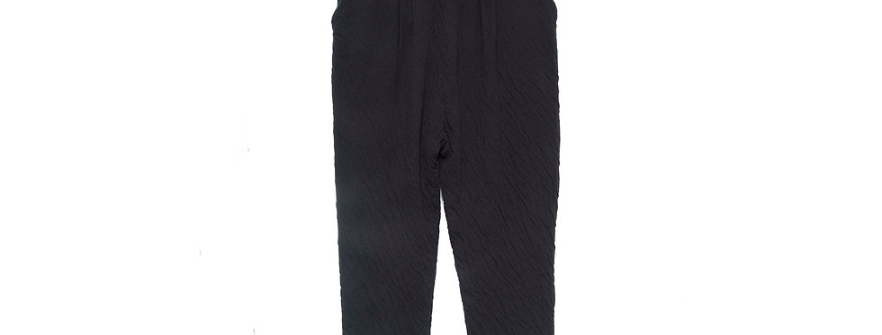 Maya Double Wrinkled Cotton Trousers