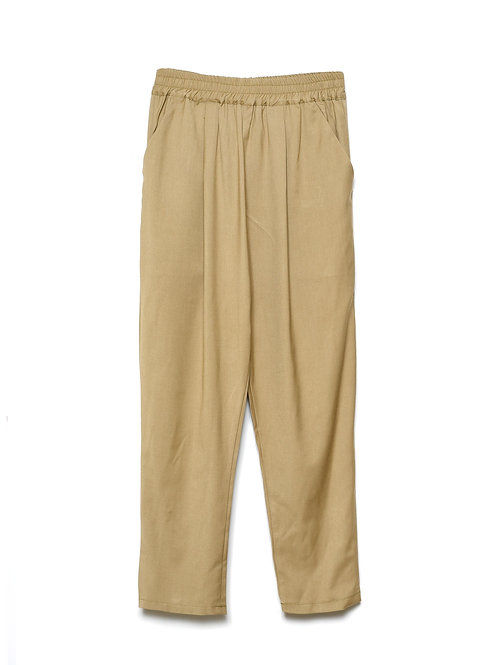 Maya Camel or Navy Cotton Trousers