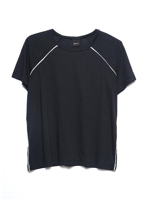Piping Trim T-shirt