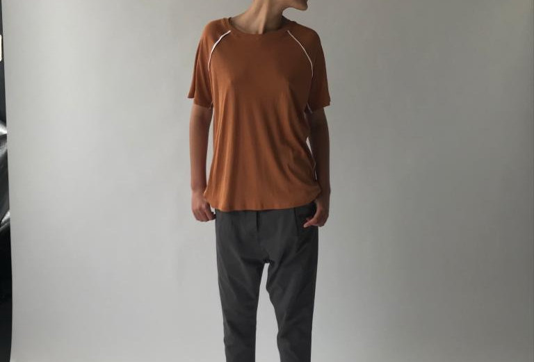 Buttoned Pleated Pants