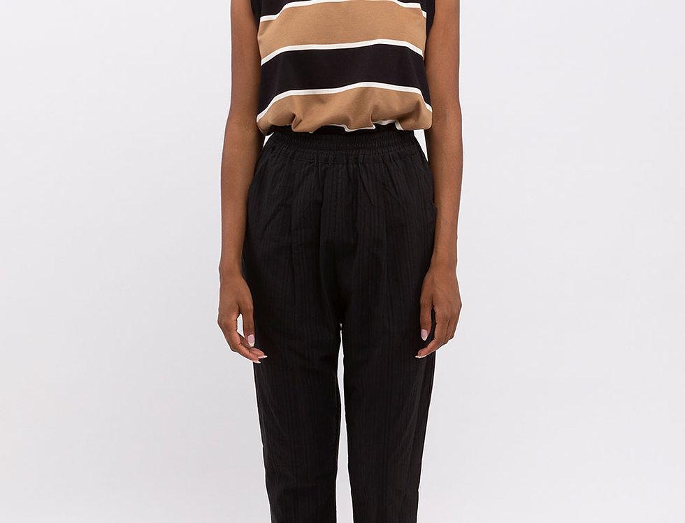 Textured Maya Cotton Trousers