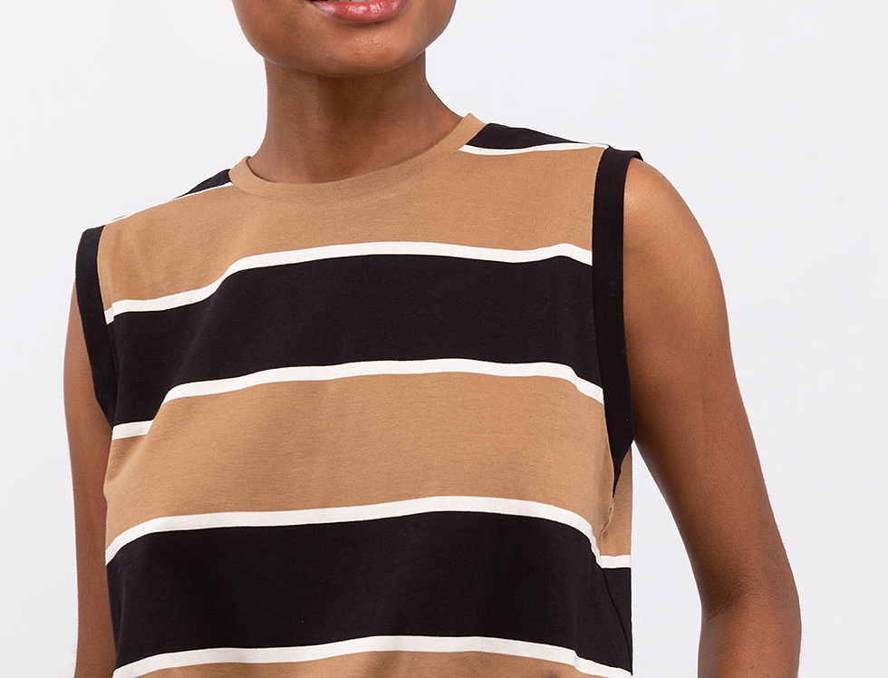 Stripes Sleeveless T