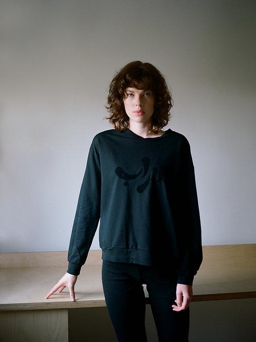 Sarab Velvet Print Sweatshirt