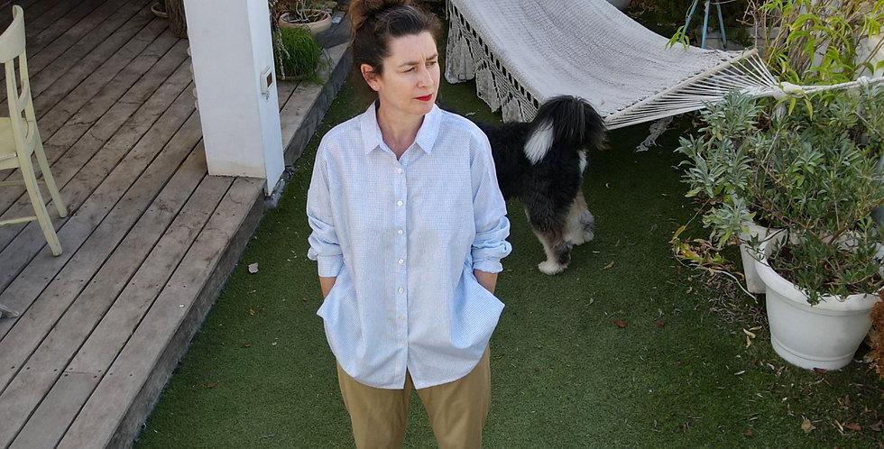 Light Blue Oversized Shirt