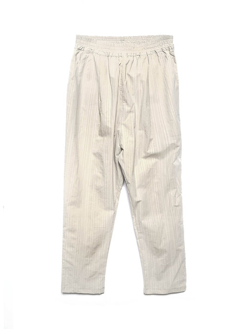 Maya Cream Cotton Trousers