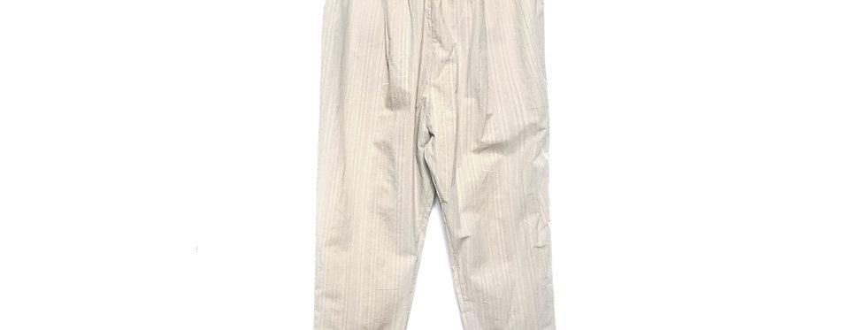 Maya Cream Cotton Trousers