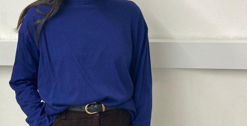 Overlap Cropped Tshirt