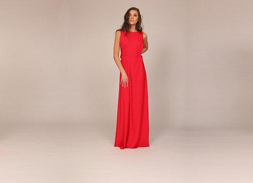 Slashed Back Dress