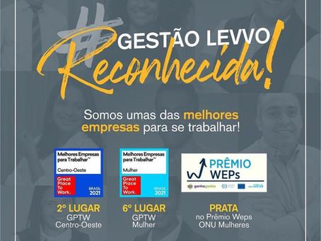 GESTÃO LEVVO RECONHECIDA