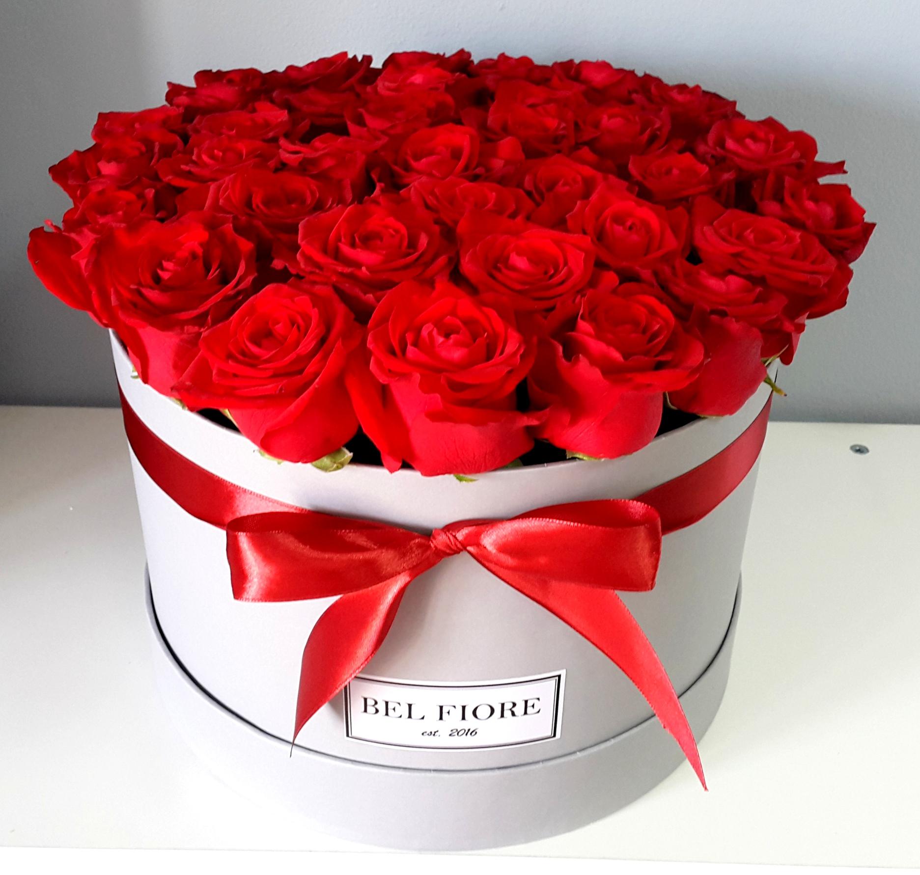 Bel Fiore Kwiaty W Pudełkach Flower Box