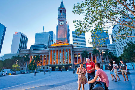 Brisbane Greeters 4 - City Hall and King