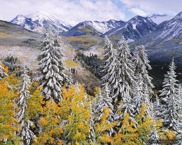 Early Snow 2,Telluride, Gary Soles, film photography, breckenridge, colorado