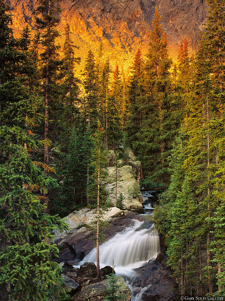 Alpenglow Waterfall