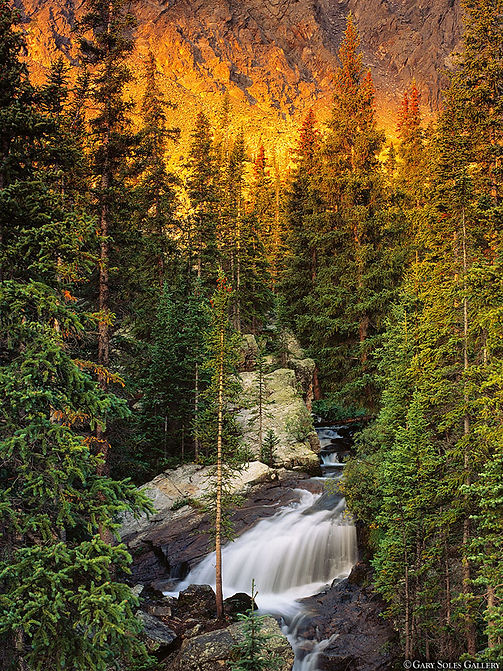 McCullough gulch, Waterfall, Breckenridge, Colorado