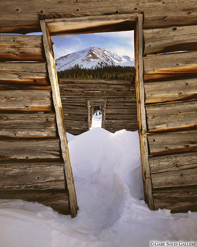 Winter Cabin Doors