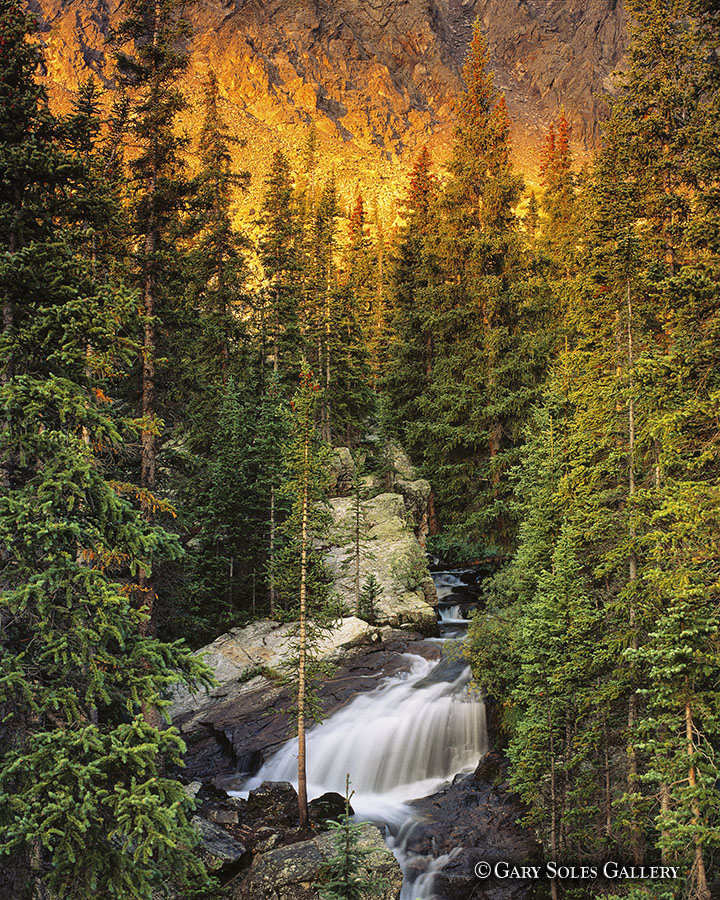 Alpenglow Waterfall