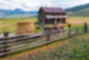 Veltri Ranch, crested butte, colorado spring, ranch house, tractor