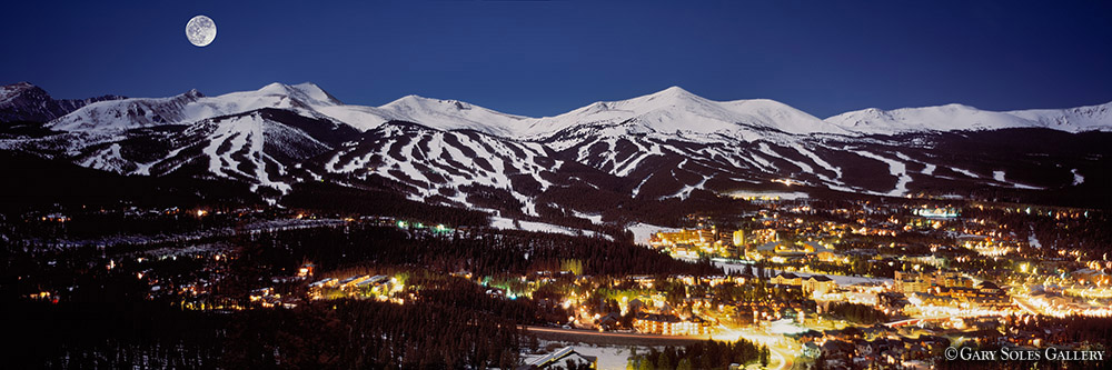Full Moon Over Breck