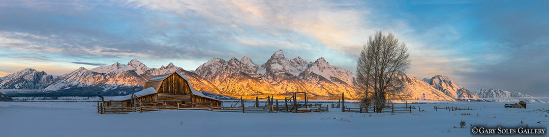 Teton Winter Sunrise