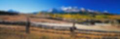 mount wilson, wilson mesa ranch, telluride, colorado, gary soles gallery, gary soles, ranch, fence