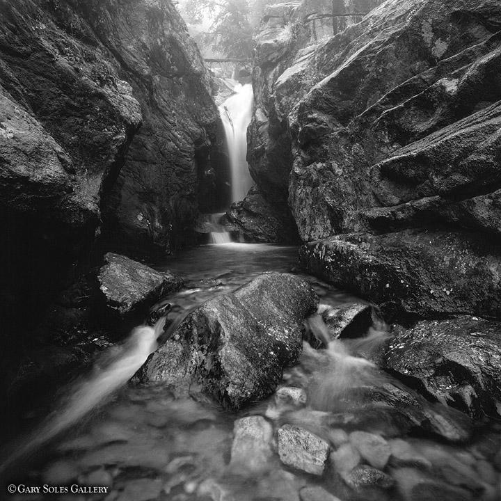 Chasm Falls BW