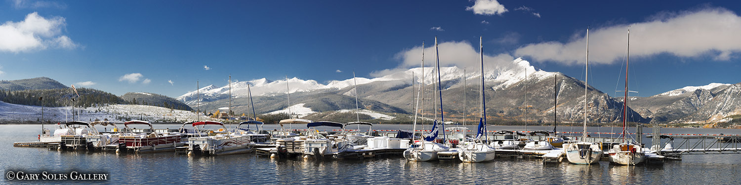 Lake Dillon Marina Pano
