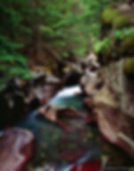 avalanche gorge, glacier national park, montana, gary soles, gary soles gallery, film photgraphy